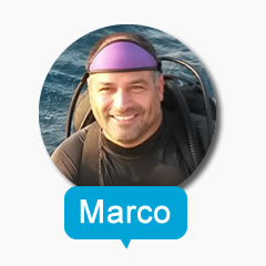 PADI Staff Instructor Marco T. Alvarado